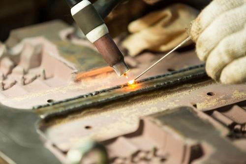 جوشکاری تعمیری فولادهای کم آلیاژ